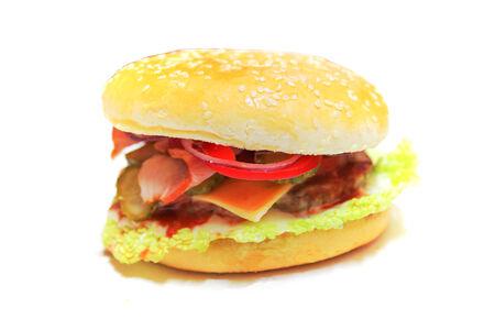 Гамбургер Макси с беконом