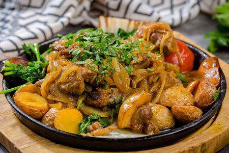 Казан-кебаб из телятины