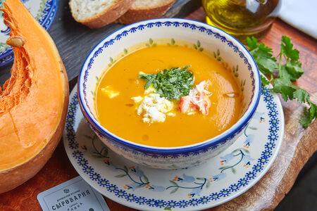 Суп из тыквы с рикоттой