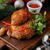 Фото к позиции меню Копченый на гриле цыпленок