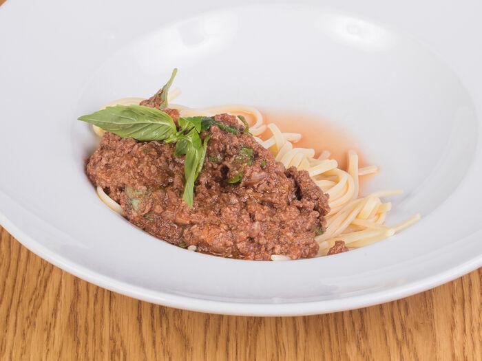 Спагетти Болоньезе из отборной говядины
