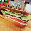 Фото к позиции меню Сэндвич с ветчиной