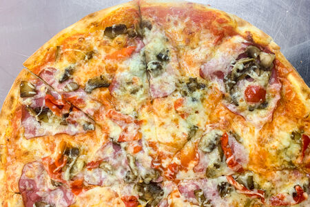 Пицца Капитан Марвел