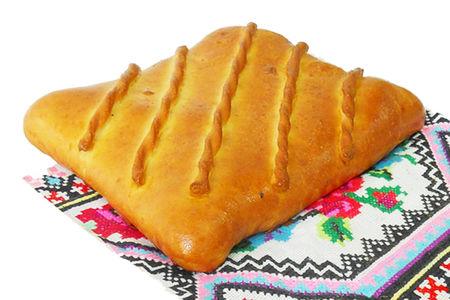 Пирог с картофелем на дрожжевом тесте