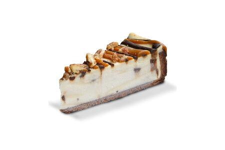 Чизкейк Нью-Йорк с шоколадом и орехом