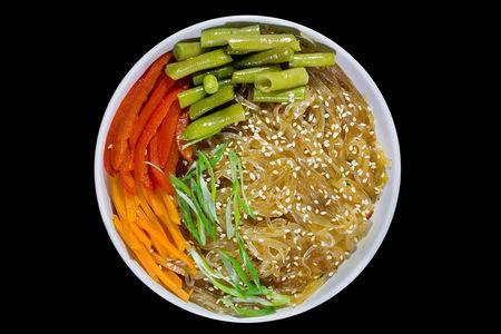Вок Фунчоза с овощами