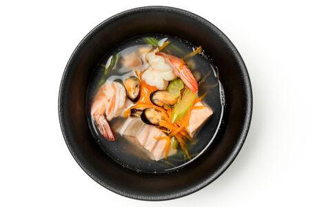 Суп Легкий из морепродуктов
