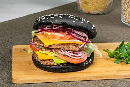 Дабл Блэк чизбургер