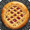 Фото к позиции меню Пирог с клубникой и творогом