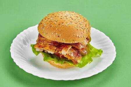 Шаурма-бургер куриный
