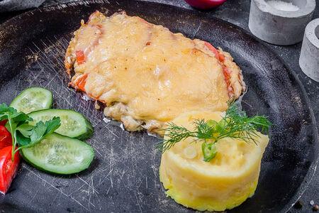 Мясо по-французски с говядиной