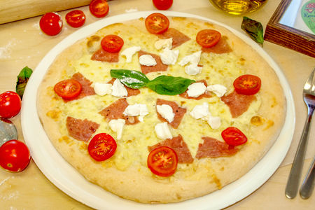 Пицца Рикотта и Маскарпоне