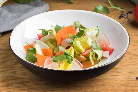 Салат Овощная грядка