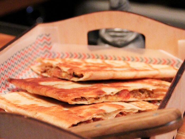 Бутерброд Мексика Кесадилья с мясом