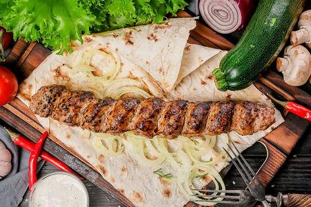 Кебаб из телятины и свинины