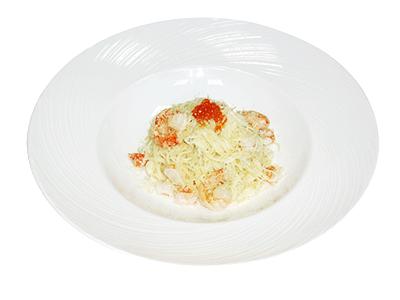Паста Капеллини с креветками