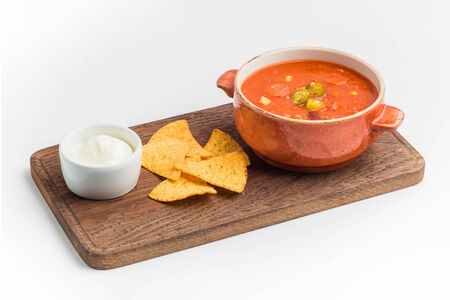 Суп Чили кон карне