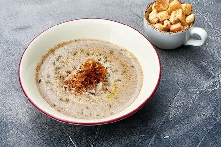 Крем-суп Капучино из лесных грибов