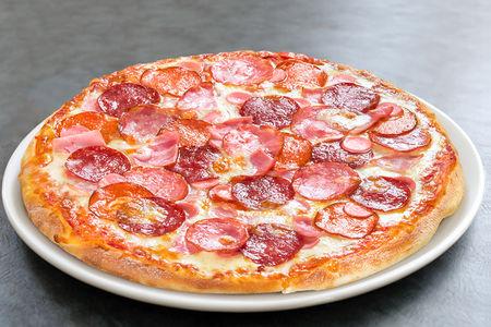 Пицца Мясное ассорти маленькая
