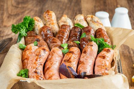 Колбаски домашние гриль
