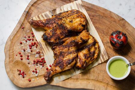 Цыпленок с паприкой