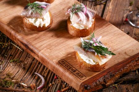 Сельдь и скумбрия на молодом картофеле
