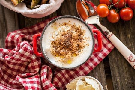 Суп-капучино с ароматом трюфеля