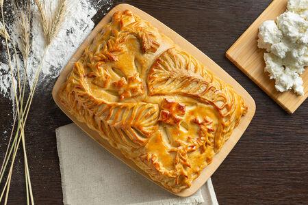 Русский пирог Творожник