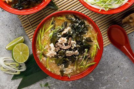 Острый суп Ким-чи