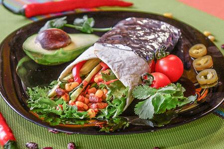 Буррито Вегетарианский