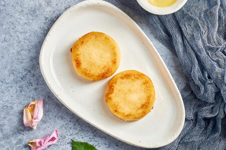 Сырники Веган из тофу и кешью