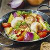 Фото к позиции меню Котлеты из индейки с овощами