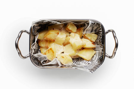 Жареная картошечка в сливках