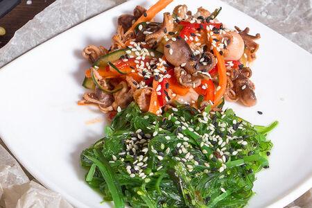 Салат с осьминожками