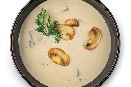 Крем-суп с шампиньонами и сыром