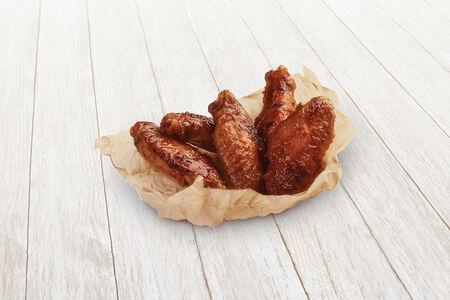 Куриные крылышки в медово-чесночном соусе, 10 шт