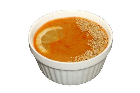 Суп Том Ям с курицей терияки