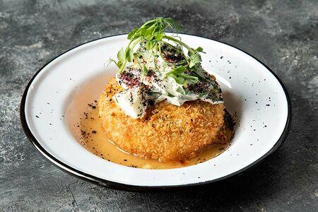 Фиш&Чиз из картофеля со слабосоленым лососем