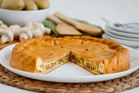 Пирог вегетарианский Троицкий