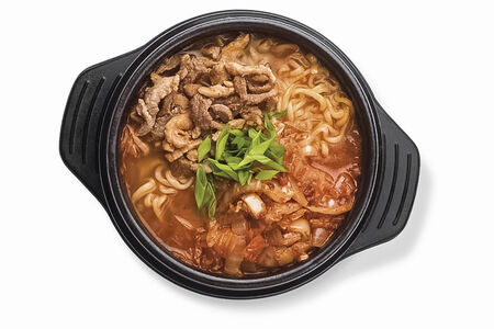 Суп Шин Рамен с кимчи