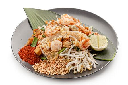 Лапша Пад Тай с морепродуктами