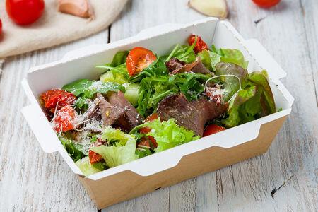 Салат из ростбифа