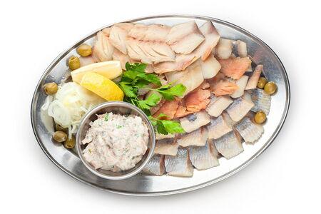 Рыбное ассорти (банкет)