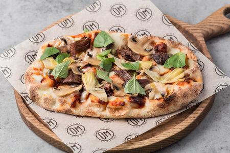 Римская пицца Говяжьи щечки и артишоки