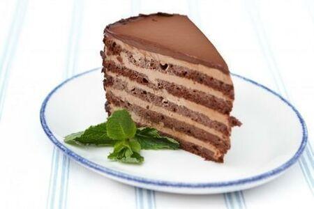 Шоколадный торт со сливочным ликёром