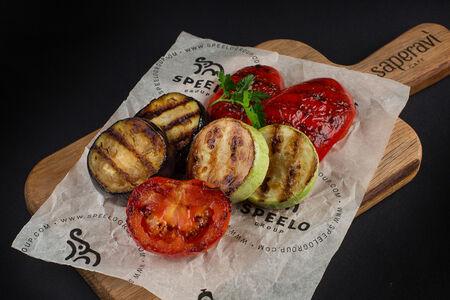 Овощи на углях