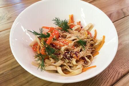 Лапша Вок с овощами