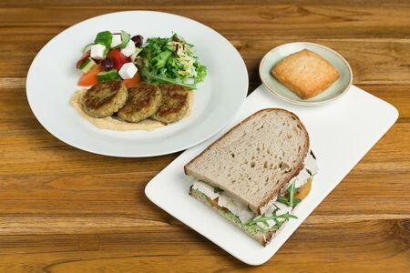 Комбо с сендвичем
