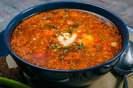 Острый суп из бычьих хвостов