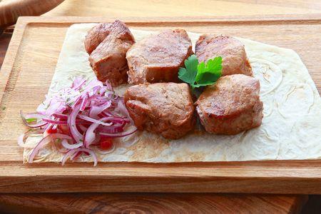 Шашлык вырезка из свинины